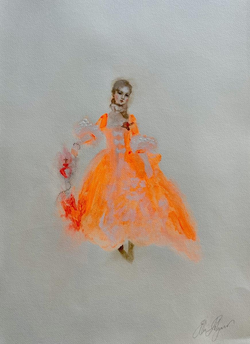 Paranormal Romantic Series 'Petticoat In Flambe'